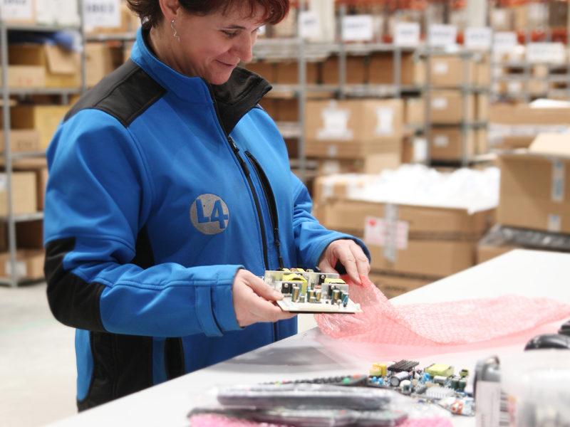 L4 Logistics - contrôle pièces détachées