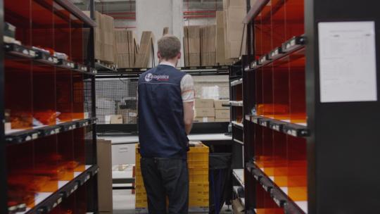 L4 Logistics e-commerce packing system