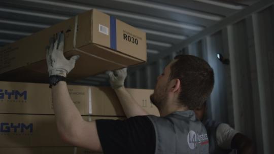 L4 Logistics réception container