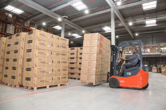 L4 Logistics - stock masses