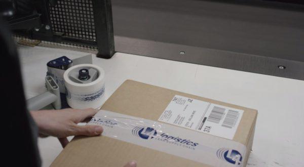 L4 Logistics e-commerce packing colis
