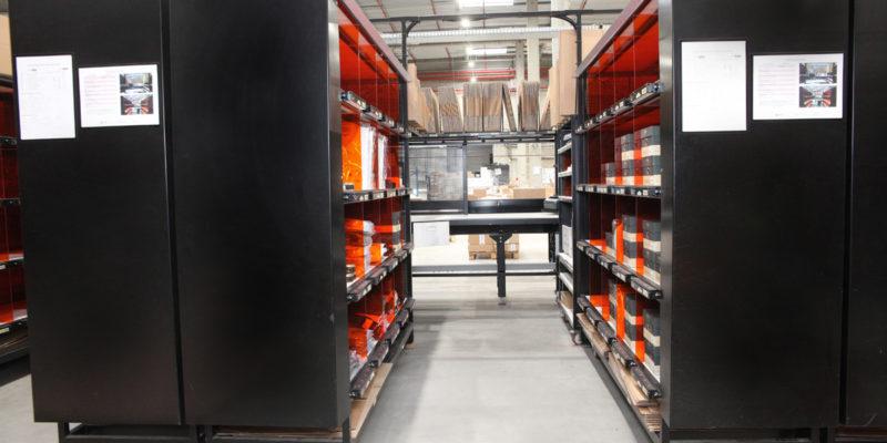 L4 Logistics - Meuble préparation de commandes - Système put to light - Zéro défaut