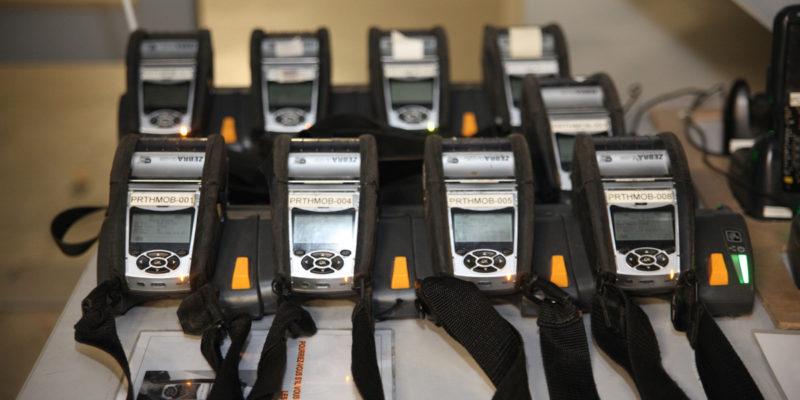 L4 Logistics - Prélèvement en stock - Scan à codes à barres