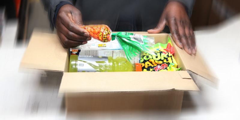 L4 Logistics - e-commerce packing alimentation