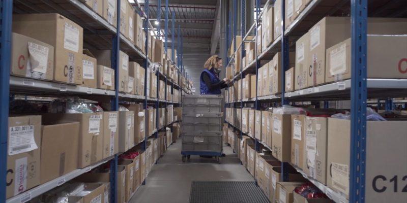 L4 Logistics - picking étagères